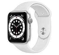 Смарт-часы Apple Watch SE 44mm Gold, Silver, Black Sport Band Черный, Серебристый, золотой Серебристый