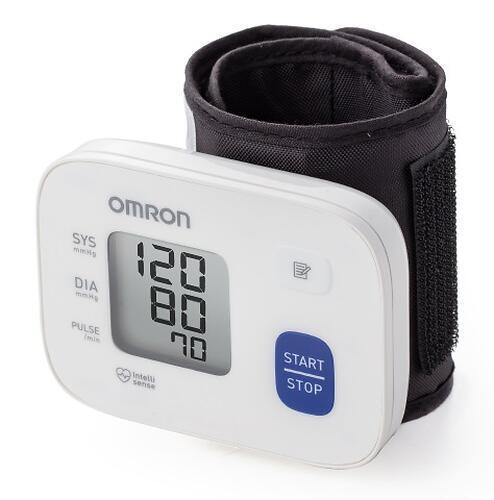 Тонометр OMRON автоматический на запястье RS1 (с индикатором аритмии)