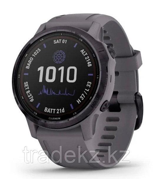 Спортивные часы Garmin fenix 6S Pro Solar, Amethyst w/Shale Band, EMEA (010-02409-15) с GPS
