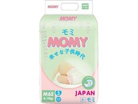Подгузники MOMY размер M (6-11кг) 62 штуки