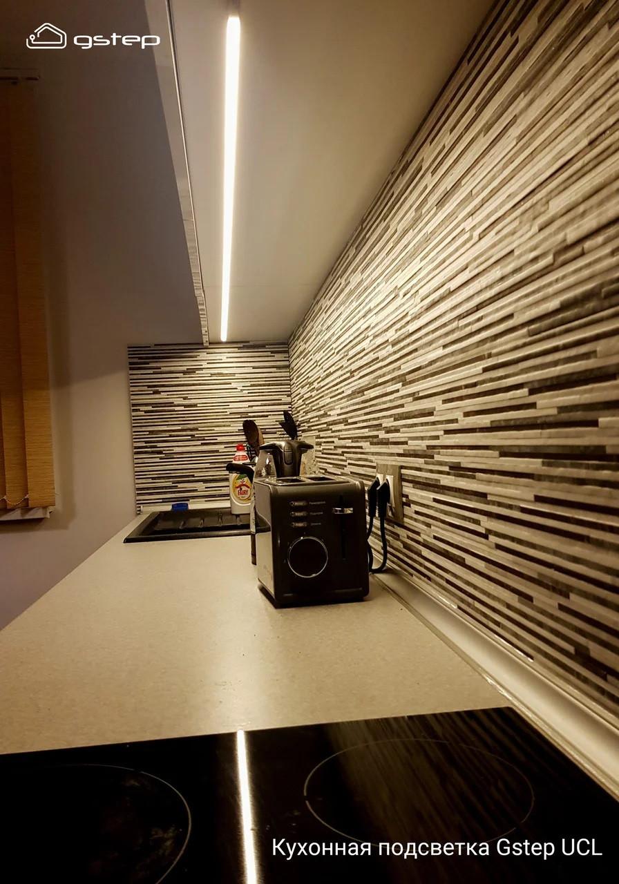 Подсветка кухни, столешницы, мебели. Длина 30 см * 3 шт. Теплый белый 3000К.
