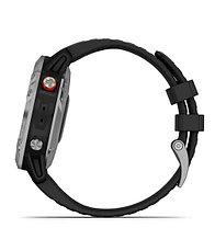 Спортивные часы Garmin fenix 6S Solar, Silver w/Black Band, GPS Watch, WW (010-02410-00) с GPS, фото 3