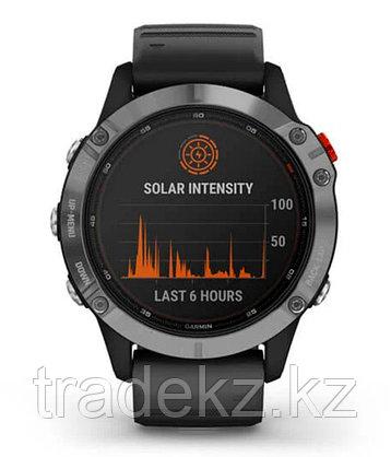 Спортивные часы Garmin fenix 6S Solar, Silver w/Black Band, GPS Watch, WW (010-02410-00) с GPS, фото 2