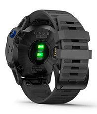 Спортивные часы Garmin fenix 6S Pro Solar, Black w/Slate Gray Band, GPS Watch, EMEA (010-02410-11) с GPS, фото 3