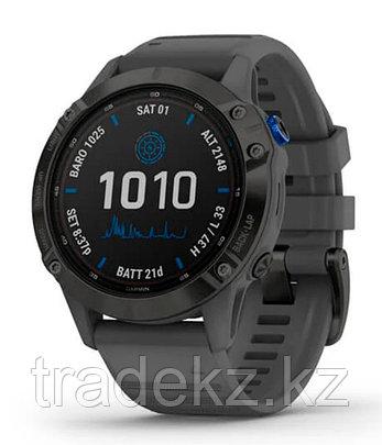 Спортивные часы Garmin fenix 6S Pro Solar, Black w/Slate Gray Band, GPS Watch, EMEA (010-02410-11) с GPS, фото 2