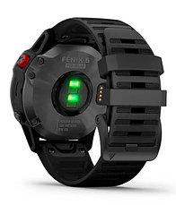 Спортивные часы Garmin fenix 6S Pro Solar, Slate Gray with Black band, GPS, EMEA (010-02410-15), фото 3