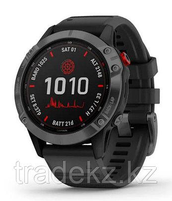 Спортивные часы Garmin fenix 6S Pro Solar, Slate Gray with Black band, GPS, EMEA (010-02410-15), фото 2