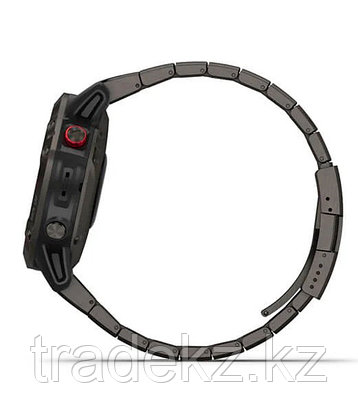Спортивные часы Garmin fenix 6 Pro Solar, Ti,Carbon Gray DLC w/Ti DLC Band, GPS, EMEA (010-02410-23), фото 2