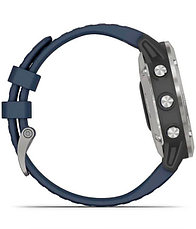 Часы Garmin quatix 6 Gray w/ Captain Blue Band (010-02158-91), фото 3