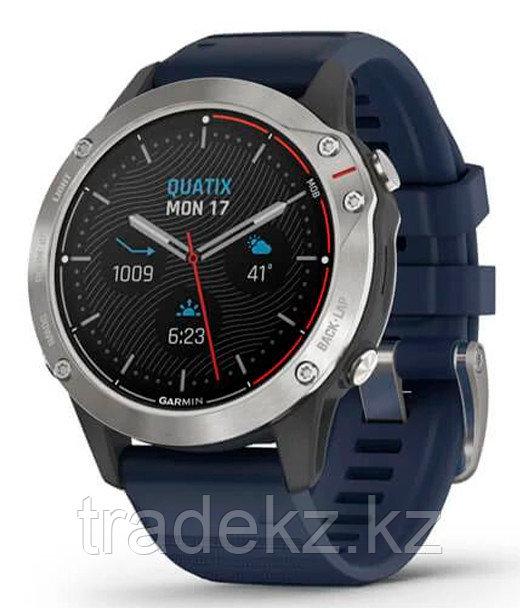 Часы Garmin quatix 6 Gray w/ Captain Blue Band (010-02158-91)