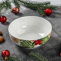 Салатник «Рождество», d=15,5 см