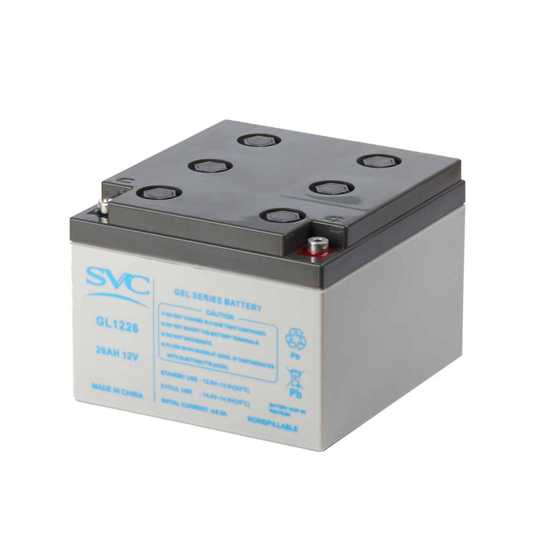 Батарея гелевая SVC GL1226 (12В, 26 Ач)