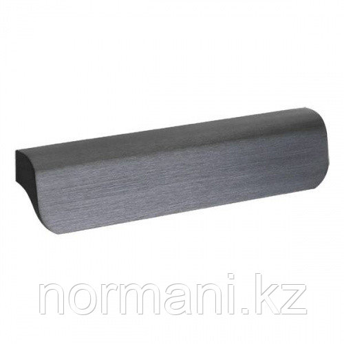 Ручка накладная L.140мм, отделка черный шлифованный