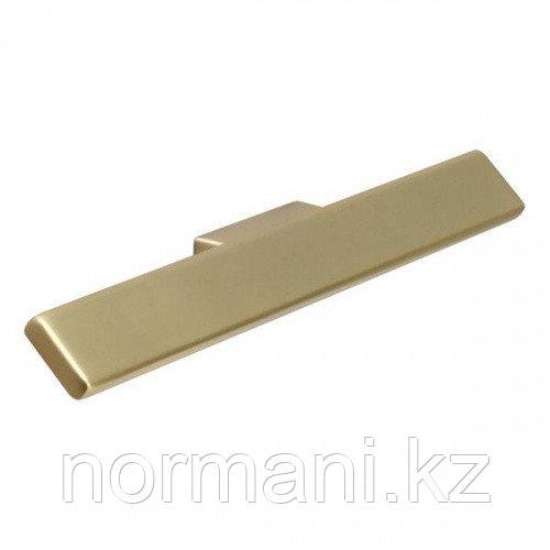 Ручка накладная L.159мм, отделка золото шлифованное