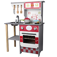Детская Европейская кухня 1016 деревянная