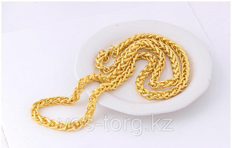 """Цепь позолота """"Змей  big gold"""""""