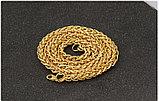 "Цепь позолота ""Змей  big gold"", фото 4"