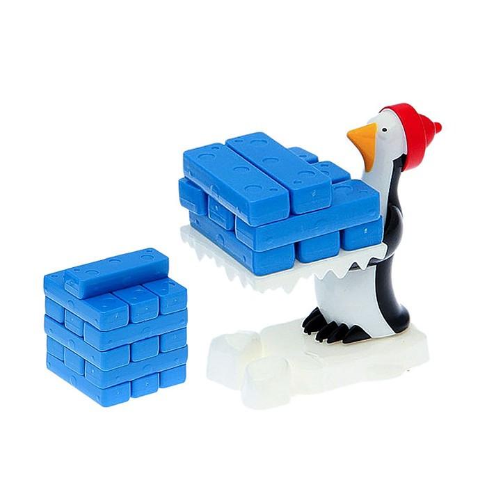 Настольная игра «Падающая башня: Льдины пингвина», в пакете