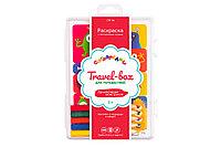 "Раскраски карандашами""Сотворелки""Travel-box для путешествий"" Приключения монстриков"