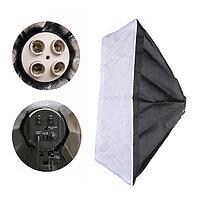 Софтбокс 50*70см для ламп E27. без стойки, фото 1