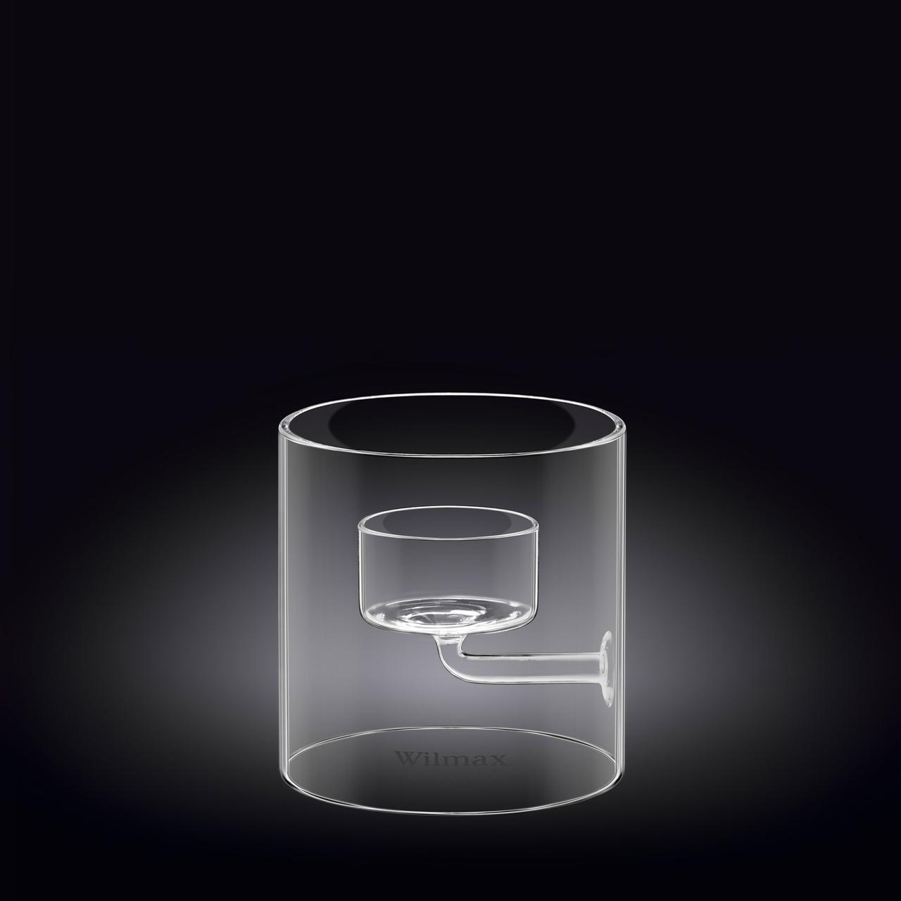 Подсвечник на 1 свечу Wilmax 9 см