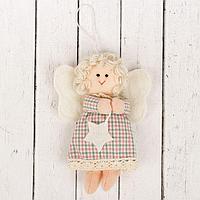 """Кукла интерьерная """"Ангелочек"""" с звездой в руках, цвета МИКС"""