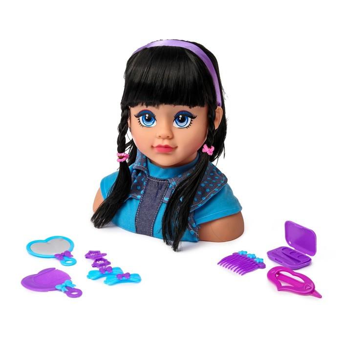 Кукла-манекен для создания причесок «Ида» с аксессуарами, МИКС