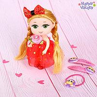 Кукла «Лола» с заколками и резинкой, МИКС, фото 1