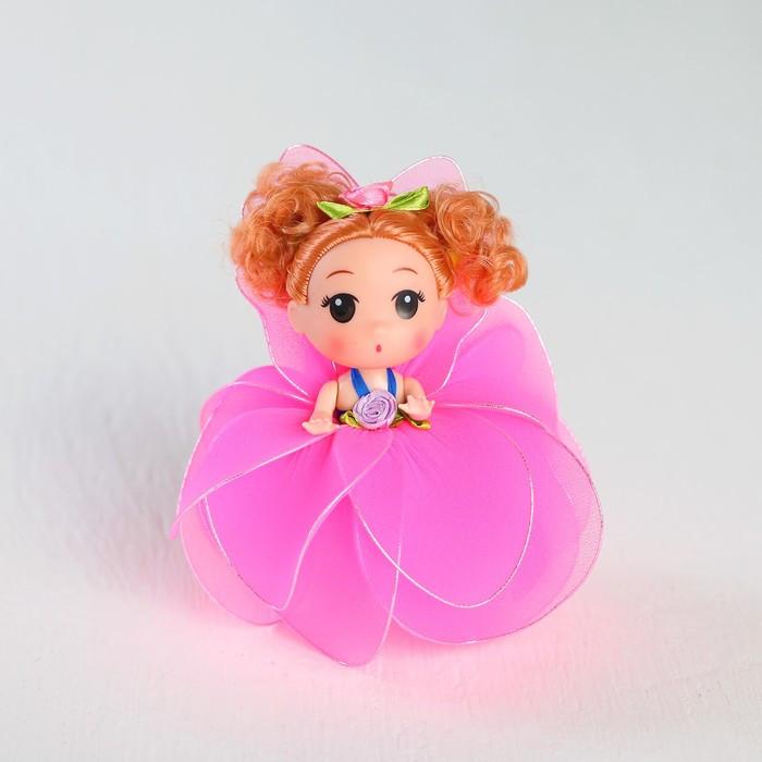 Кукла-брелок «Мила», юбочка из лепестков, цвета МИКС