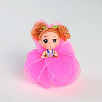 Кукла-брелок «Мила», юбочка из лепестков, цвета МИКС, фото 1