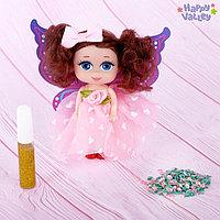 Кукла-малышка «Юленька: создай крылья своей мечты»: гель с блёстками и пайетки, МИКС