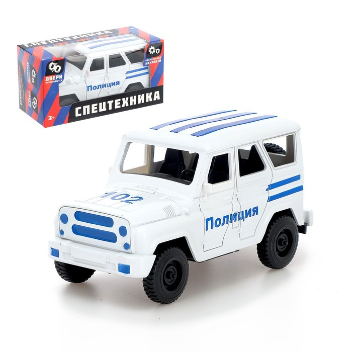 Машина инерционная «Джип Полиция»