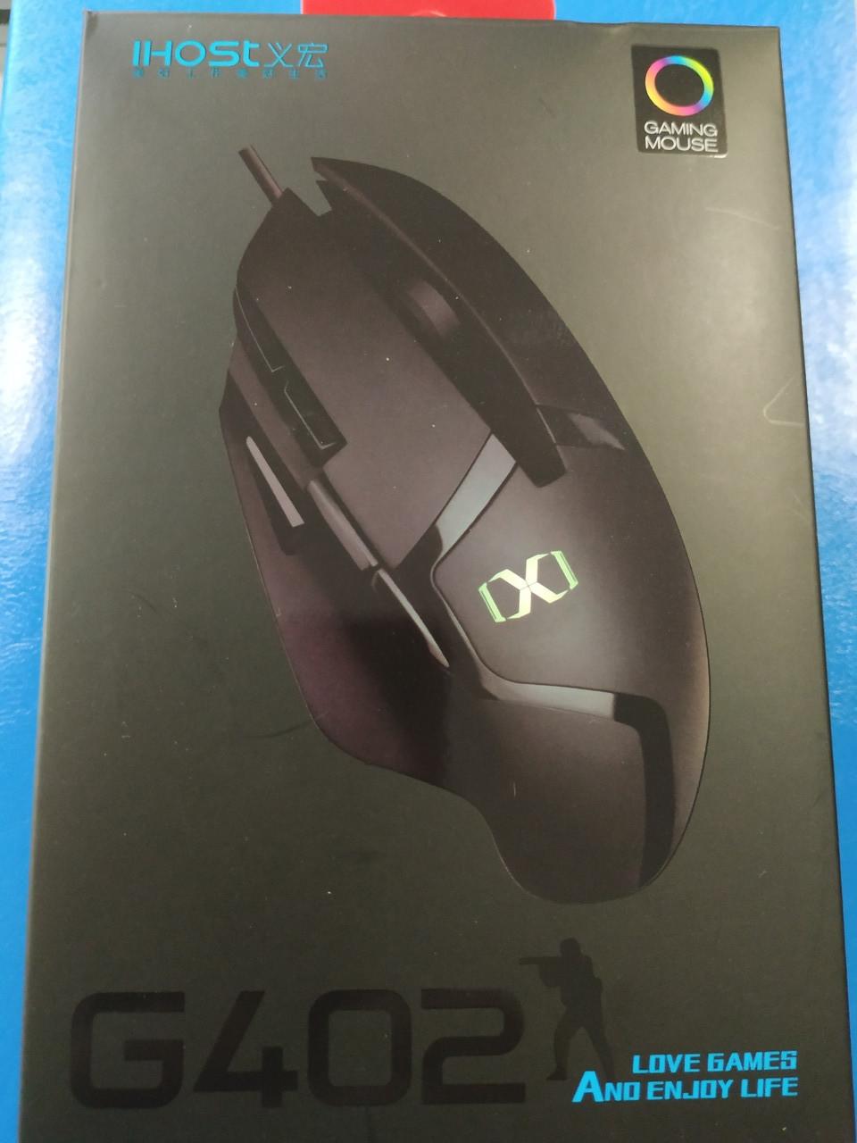 Игровая компьютерная мышка IHOST G402, 3000 DPI, Алматы