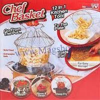 Складная решетка Chef Basket для приготовления пищи