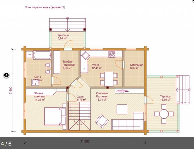 Проектирование и деревянного дома из бруса под ключ, план двухэтажного дома и строительство под ключ, проектирование и строительство деревянных домов.