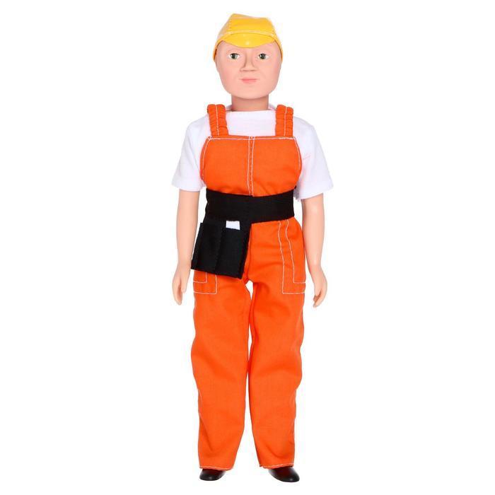 """Кукла """"Дима - строитель"""" 30 см 16 - С - 3"""