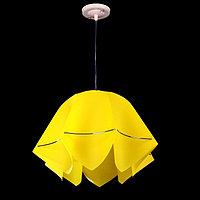"Люстра подвес ""Джули"" E27 1х60Вт желтый 27х42х100 см"