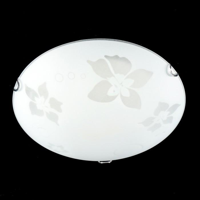 """Светильник настенно-потолочная """"Орхидея"""" E27 60Вт  30 см."""