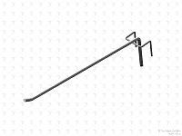 Стойка/стенд/сетка из металлической сетки Гефест Крючок штыревой 275 мм усиленный