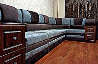 Мягкий угловой модульный диван