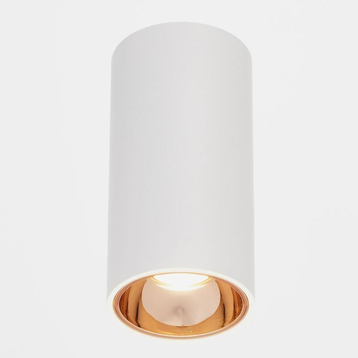 Светильник 671513/1 LED 7Вт белый-золото 5,5х5,5х10 см