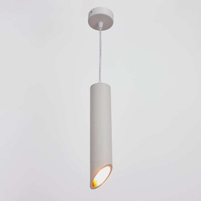 Светильник 671510/1 GU10 40Вт белый 6х6х30 см