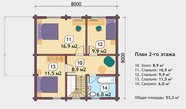 скачать проекты домов из бруса с чертежами бесплатно, план двухэтажного дома и строительство под ключ, проектирование и строительство деревянных домов.