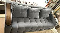 Пружинный диван тахта (материалы, размер и цвет по индивидуальному заказу)