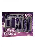 Любовный набор Mega Purple Sex Toy Kit (только доставка), фото 2