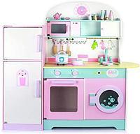 Детская деревянная кухня 1023