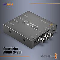 Конвертер Blackmagic Mini Converter Audio to SDI, фото 1