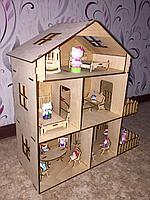 Кукольный домик с мебелю