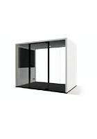 Акустическая будка LWOP Cube four-seater четырехместная задняя стенка стекло