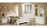 Набор мебели для спальни (МДФ, белый орех)